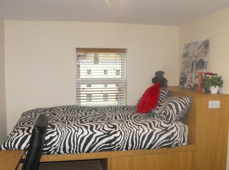 Student flat in Preston at the Jazz Bar, 3rd Floor