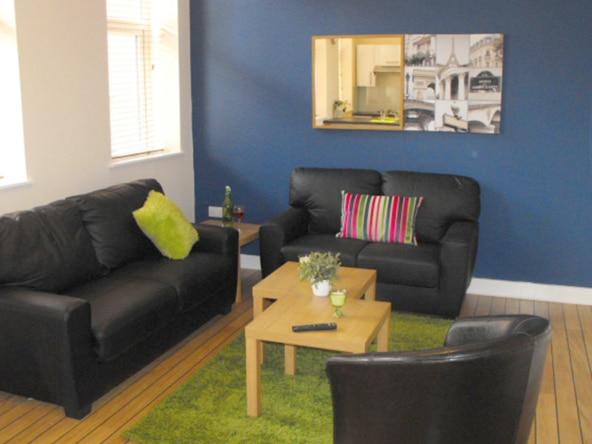 The Jazz Bar Preston student accommodation, first floor flat, 6 bedrooms