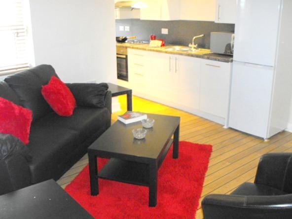 The Jazz Bar student flat, one bedroom studio apartment