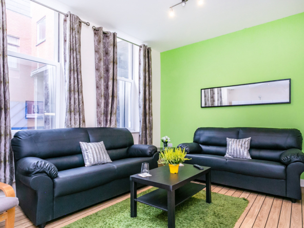4 bedroom ground floor flat to rent for students in Preston at the Jazz Bar