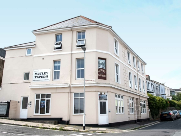 The Mutley Tavern student flats in Plymouth