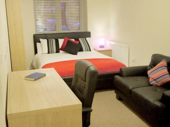 One bedroom Student apartments and studios at The Guild Tavern, Studio 1, Ground Floor Studio in Preston