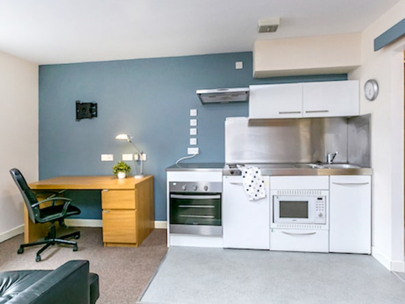 One bedroom Student apartments and studios at The Guild Tavern, First Floor Studio in Preston